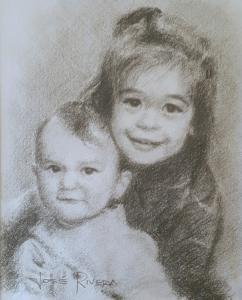 Portrait Rivera Fine Art Grand Kids